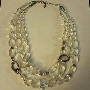 Silpada sterling and crystal neckace